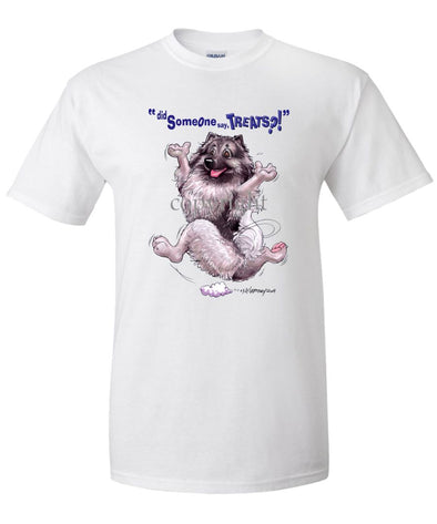 Keeshond - Treats - T-Shirt