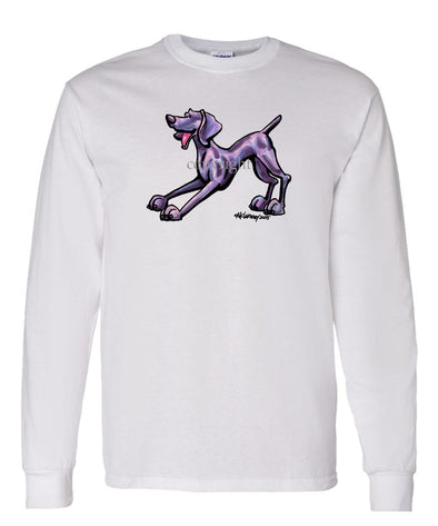 Weimaraner - Cool Dog - Long Sleeve T-Shirt