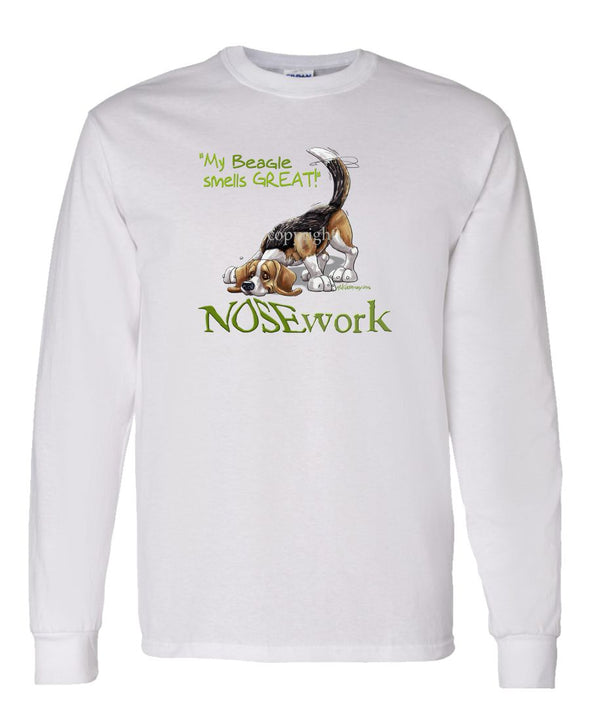 Beagle - Nosework - Long Sleeve T-Shirt