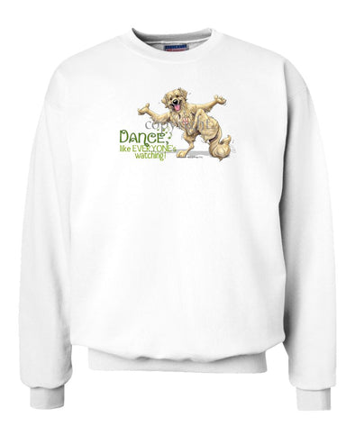 Golden Retriever - Dance Like Everyones Watching - Sweatshirt