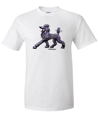 Poodle  Black - Cool Dog - T-Shirt