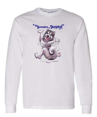 Alaskan Malamute - Treats - Long Sleeve T-Shirt