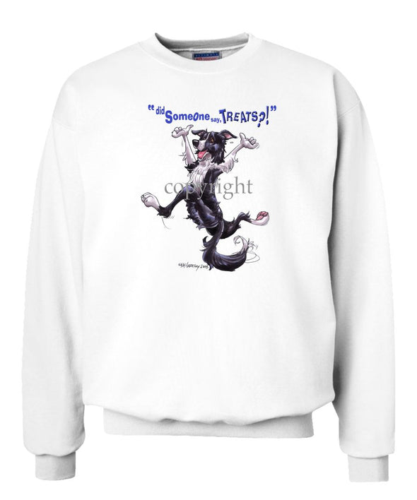 Border Collie - Treats - Sweatshirt