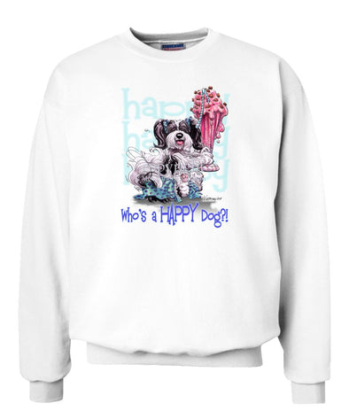 Havanese - Who's A Happy Dog - Sweatshirt