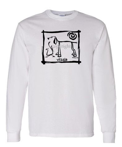 Vizsla - Cavern Canine - Long Sleeve T-Shirt