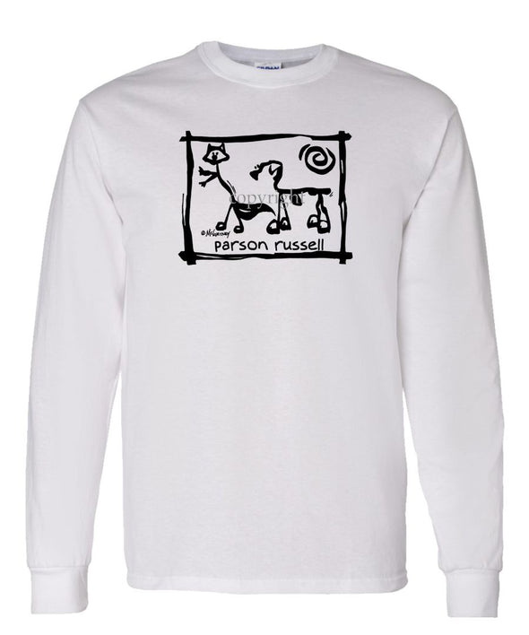 Parson Russell Terrier - Cavern Canine - Long Sleeve T-Shirt