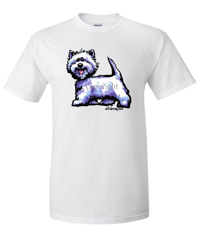 West Highland Terrier - Cool Dog - T-Shirt