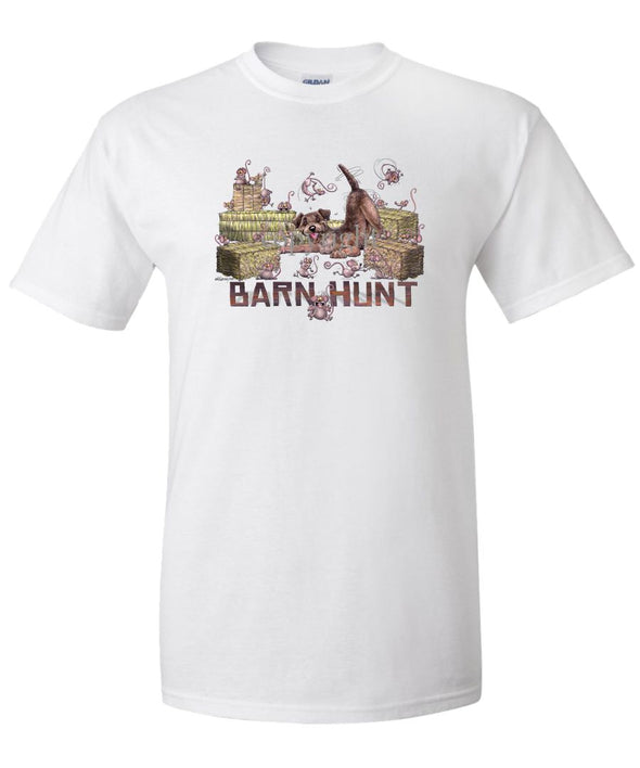 Border Terrier - Barnhunt - T-Shirt
