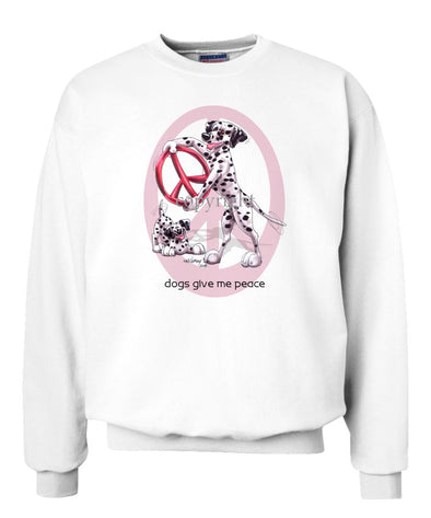 Dalmatian - Peace Dogs - Sweatshirt