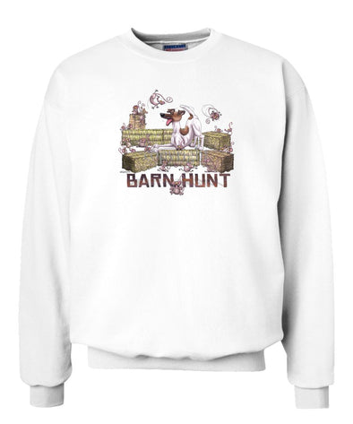 Smooth Fox Terrier - Barnhunt - Sweatshirt