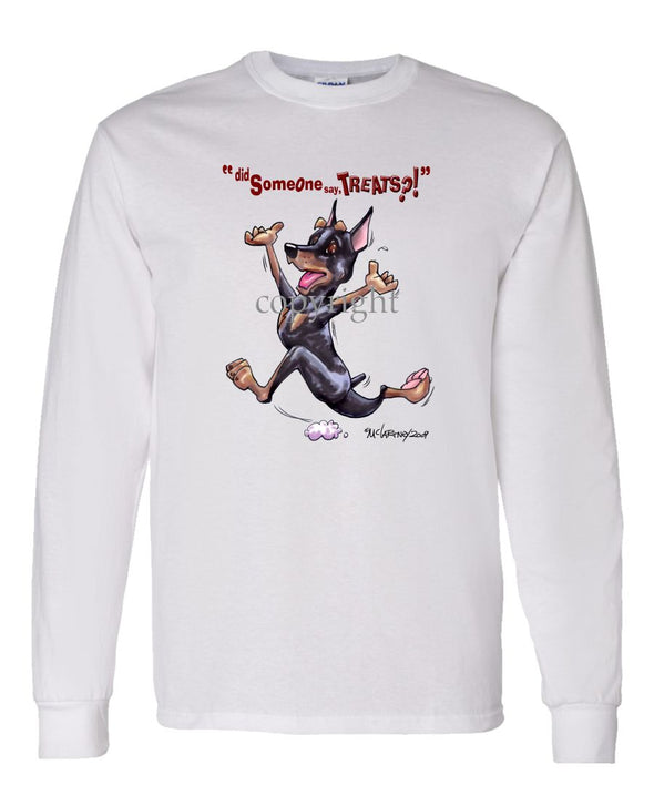 Miniature Pinscher - Treats - Long Sleeve T-Shirt