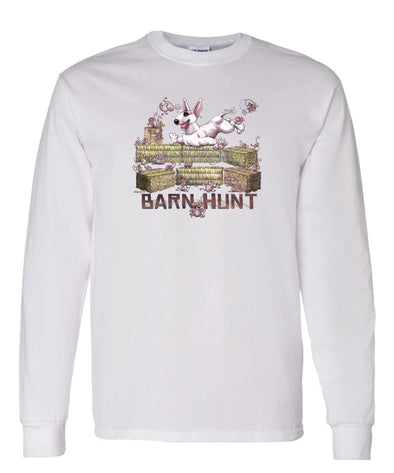 Bull Terrier - Barnhunt - Long Sleeve T-Shirt