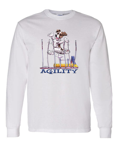 Parson Russell Terrier - Agility Weave II - Long Sleeve T-Shirt