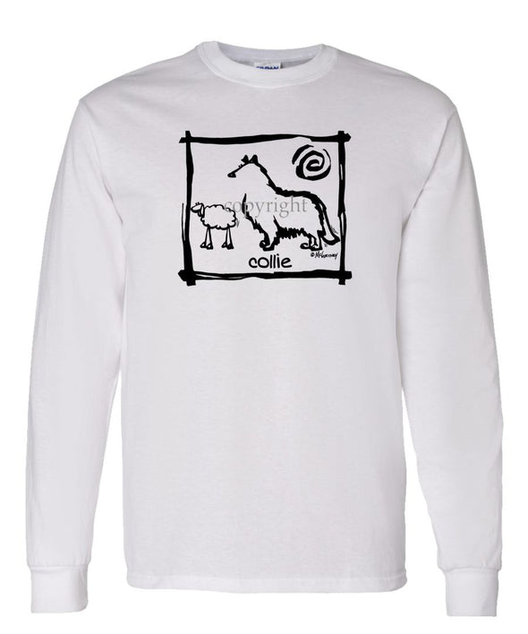 Collie - Cavern Canine - Long Sleeve T-Shirt
