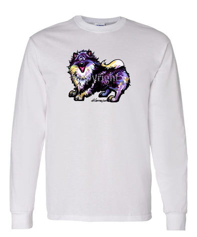 Keeshond - Cool Dog - Long Sleeve T-Shirt