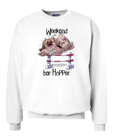 Pekingese - Weekend Barhopper - Sweatshirt