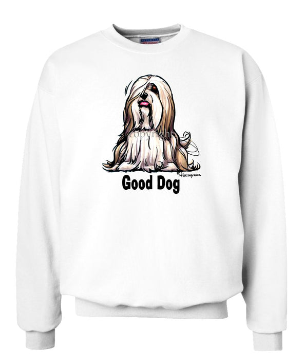 Lhasa Apso - Good Dog - Sweatshirt