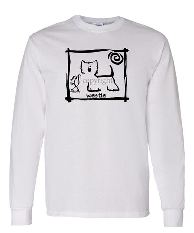 West Highland Terrier - Cavern Canine - Long Sleeve T-Shirt