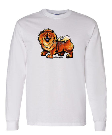 Chow Chow - Cool Dog - Long Sleeve T-Shirt