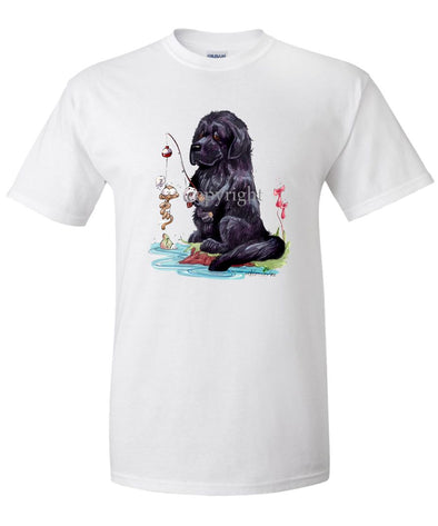 Newfoundland - Fishing - Caricature - T-Shirt
