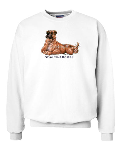 Bullmastiff - All About The Dog - Sweatshirt
