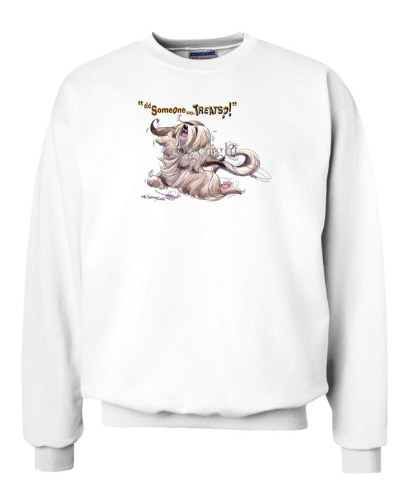 Lhasa Apso - Treats - Sweatshirt