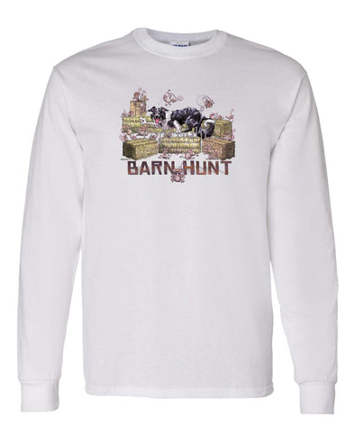 Border Collie - Barnhunt - Long Sleeve T-Shirt