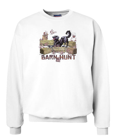 Flat Coated Retriever - Barnhunt - Sweatshirt