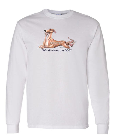 Greyhound - All About The Dog - Long Sleeve T-Shirt