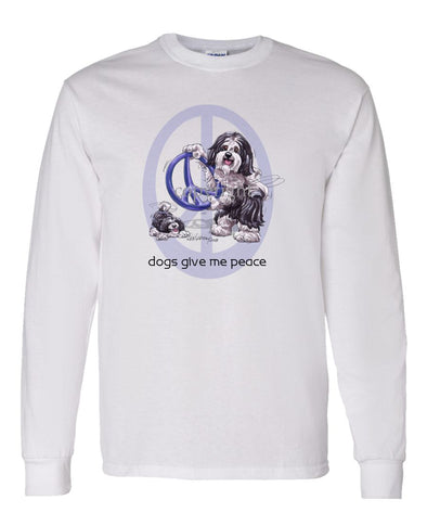 Havanese - Peace Dogs - Long Sleeve T-Shirt