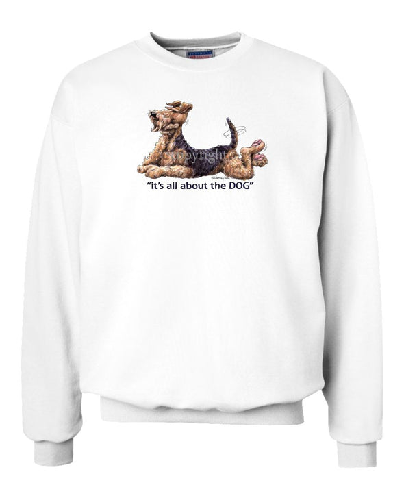 Airedale Terrier - All About The Dog - Sweatshirt