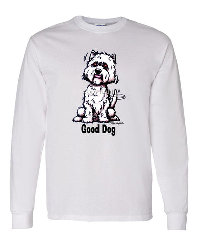 West Highland Terrier - Good Dog - Long Sleeve T-Shirt