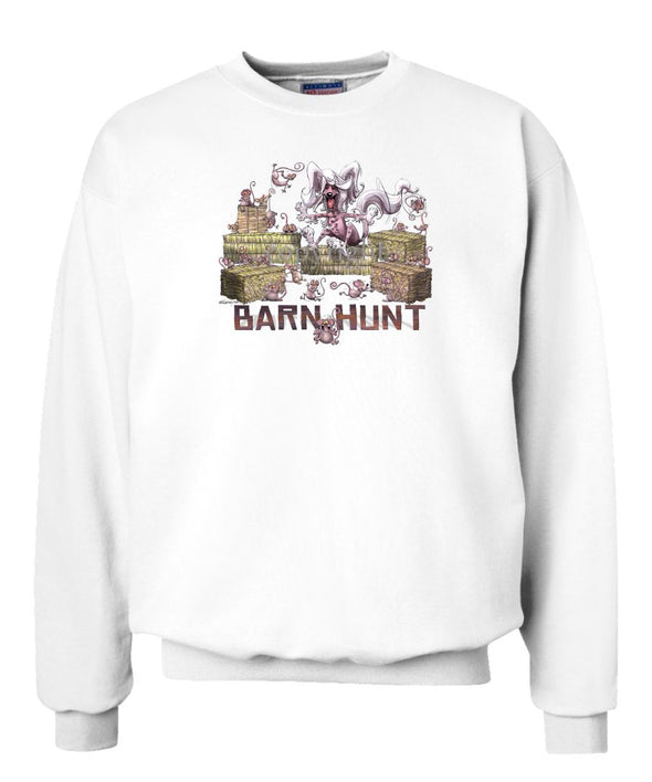 Chinese Crested - Barnhunt - Sweatshirt