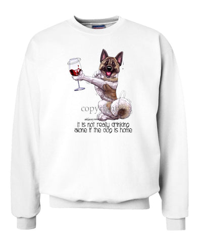 Akita - It's Not Drinking Alone - Sweatshirt