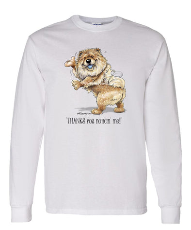 Chow Chow - Noticing Me - Mike's Faves - Long Sleeve T-Shirt