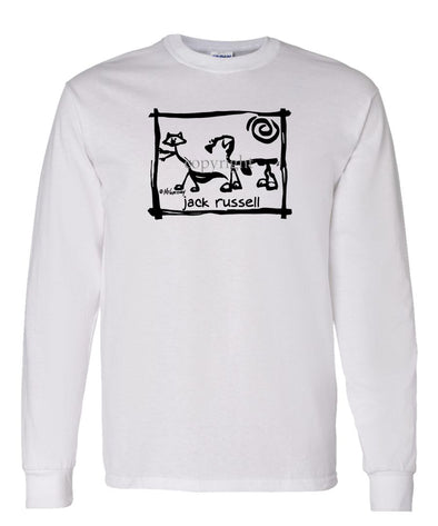 Jack Russell Terrier - Cavern Canine - Long Sleeve T-Shirt