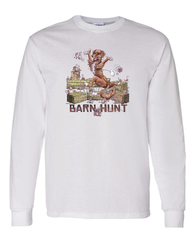 Nova Scotia Duck Tolling Retriever - Barnhunt - Long Sleeve T-Shirt