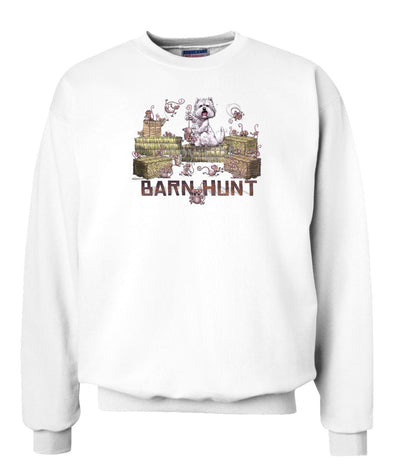 West Highland Terrier - Barnhunt - Sweatshirt