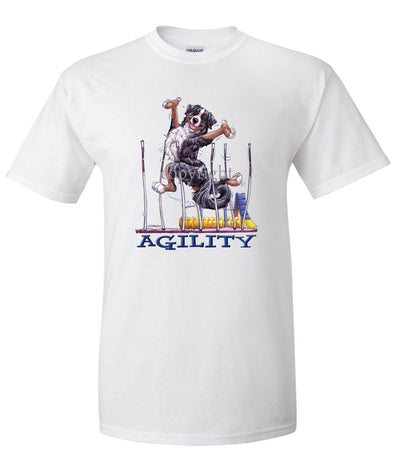 Bernese Mountain Dog - Agility Weave II - T-Shirt