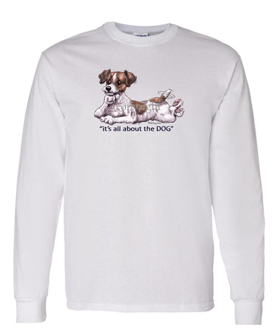 Parson Russell Terrier - All About The Dog - Long Sleeve T-Shirt