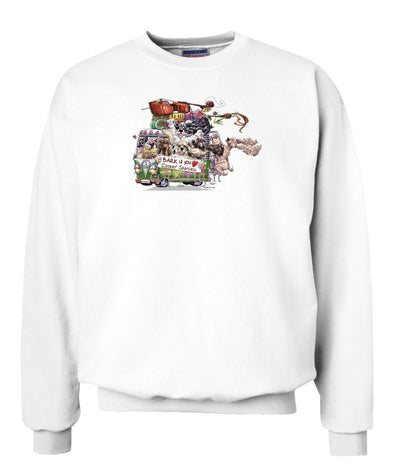 Cocker Spaniel - Bark If You Love Dogs - Sweatshirt