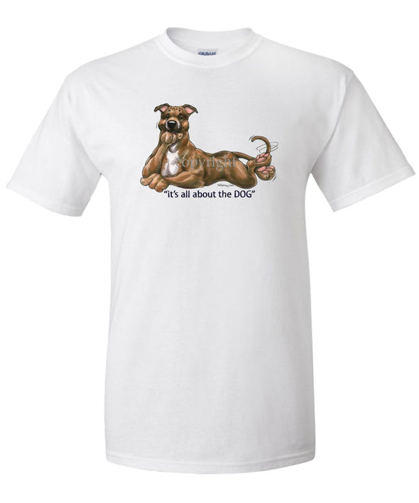 Staffordshire Bull Terrier - All About The Dog - T-Shirt