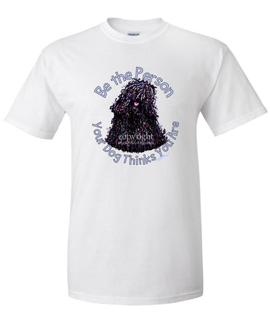 Puli - Be The Person - T-Shirt