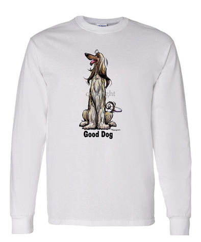 Afghan Hound - Good Dog - Long Sleeve T-Shirt
