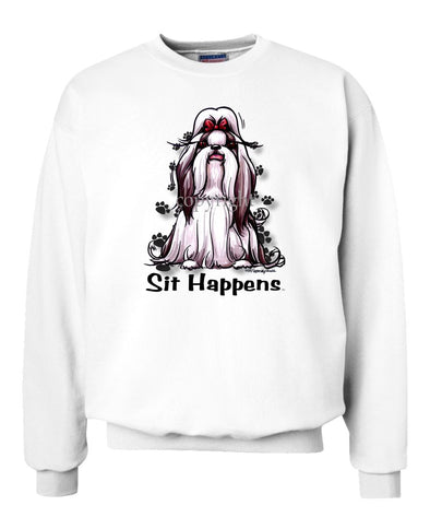 Shih Tzu - Sit Happens - Sweatshirt