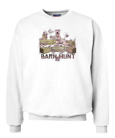 Soft Coated Wheaten - Barnhunt - Sweatshirt