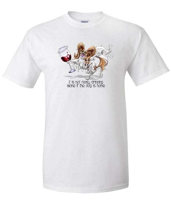 Papillon - It's Drinking Alone 2 - T-Shirt