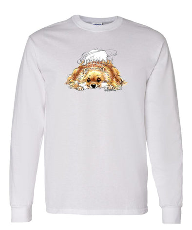 Pomeranian - Rug Dog - Long Sleeve T-Shirt