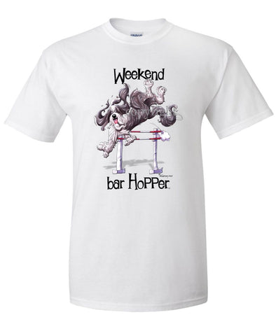Bearded Collie - Weekend Barhopper - T-Shirt