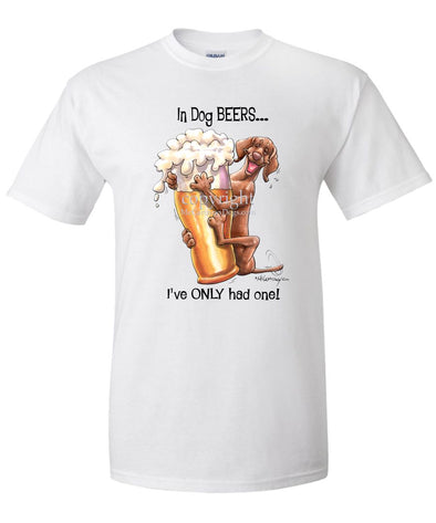 Vizsla - Dog Beers - T-Shirt